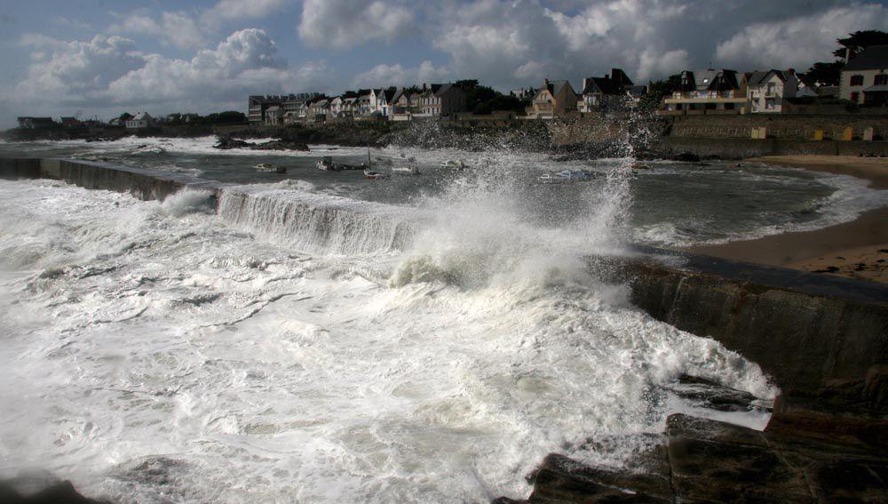 Tempête à Batz-sur-Mer Côte Sauvage - Loire Atlantique - Photos Thierry Weber Photographe La Baule Guérande