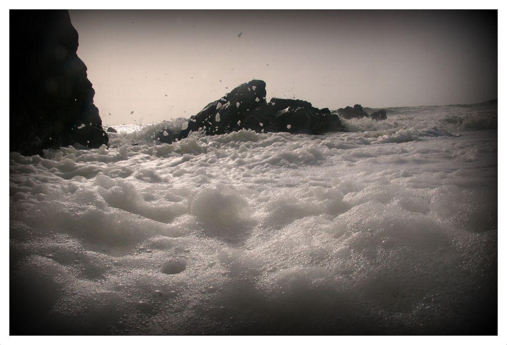 Ecume et Embruns sur la Côte Sauvage Le Croisic - Photos Thierry Weber Photographe de mer à La Baule Guérande