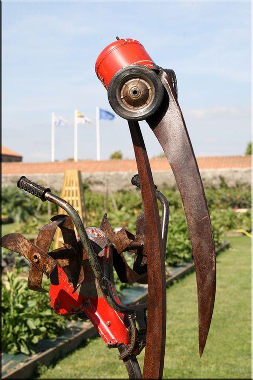 Les Sculptures de Christian Champin - Mètalo-déchéticien à Paimboeuf 2011