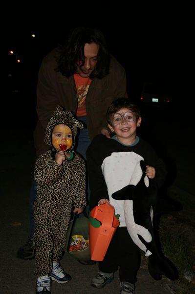 Ben ... c'est Halloween en fait