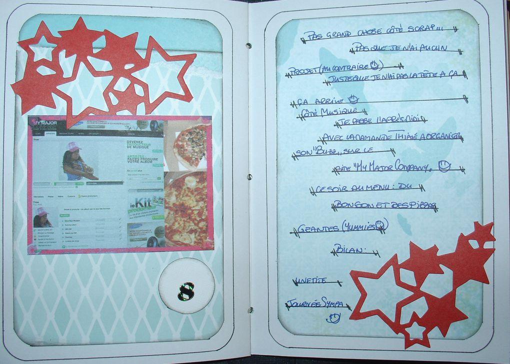 Mon calendrier de l'avant pour l'année 2009 façon journal intime ^_^