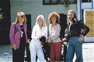 ABBA en France et en Belgique (1974-1975)
