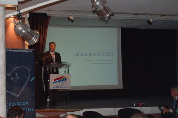 La 10ème étape du Tour de France de la Découverte professionnelle 3 heures à Charleville-Mézières, le 16 octobre 2008.