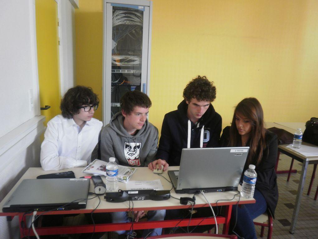 Finale académique du Tournoi de gestion.Mercredi 16 mai 2012 au lycée Roosevelt de Reims