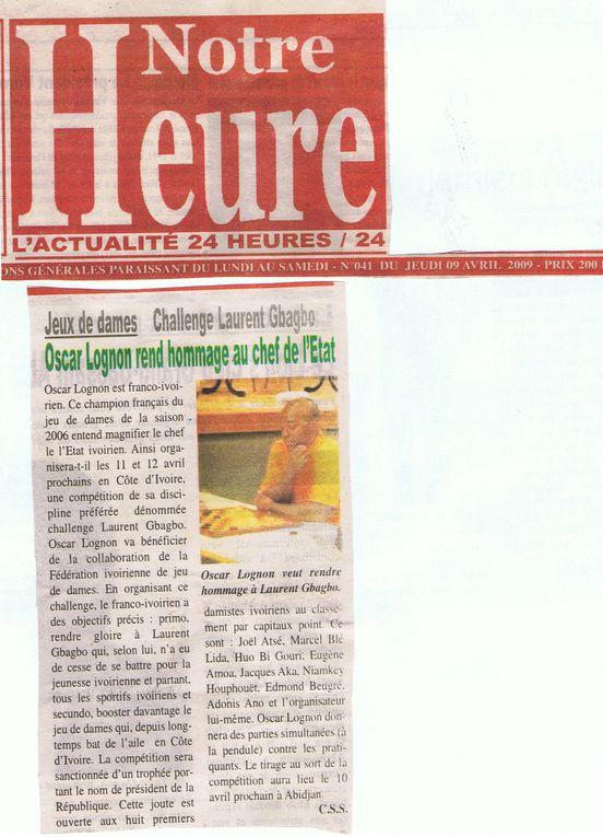 CHALLENGE Laurent GBAGBOTout partenariat sera le bienvenu pour la 2nde édition, prévue en décembre 2010 et qui sera ouverte à l'international.