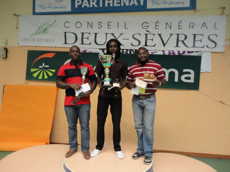 CHAMPION : Thomy Mbongo