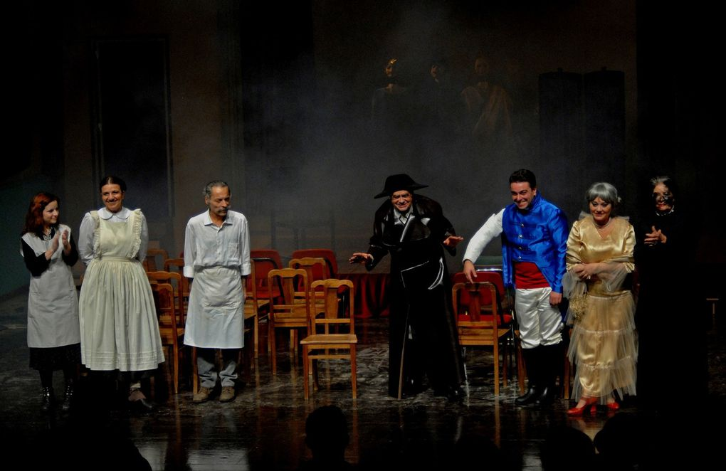 """Der Theatermacher"" (O Fazedor de Teatro), by T. Bernhard, director J. Benite   (Best play of the year in Portugal)."