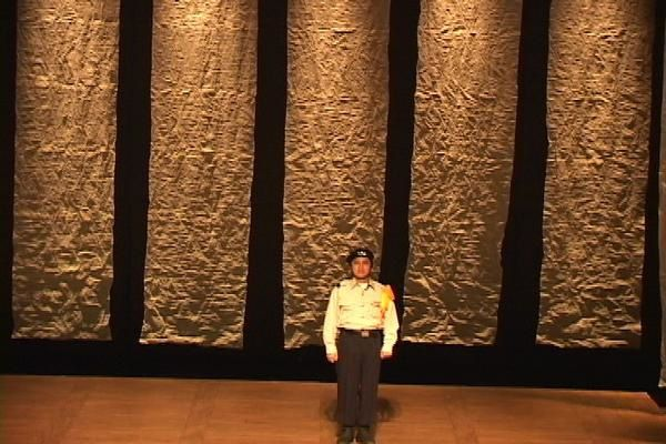This play where I did set and costums was creat in september 2007 at the Kookmin University (Seoul Korea) It was re-creat in private theatre with a new set in March 2008.