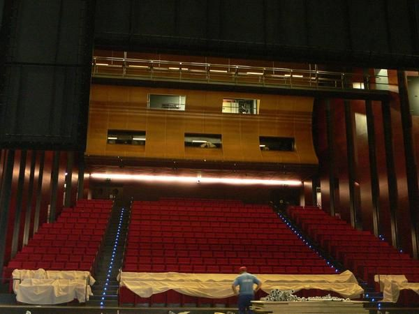 The Almada Theatre was open in July 2006.