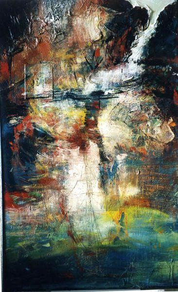 historique d'une peinture de 1995 à 2008 , les différents états d'une même toile