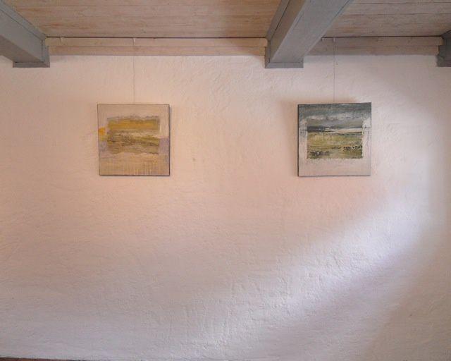 Mon travail actuel pour cette expo en Suède. Eté 2011