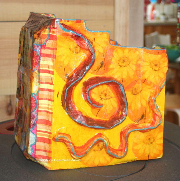 Album - Récup' Créative en carton et papier