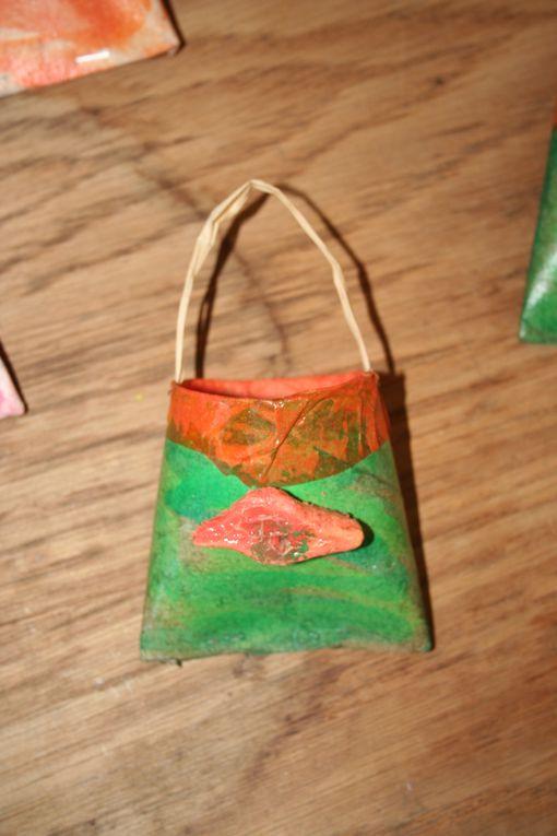 Album - Petits sacs en rouleaux de sopalin et papier recyclé