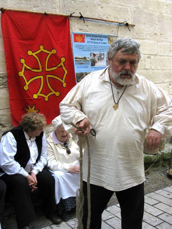 Foire de la Saint Martin à Aramon le 11/11/2011Photos Nicole Faucon-Pellet et Jean-Marc Pellet