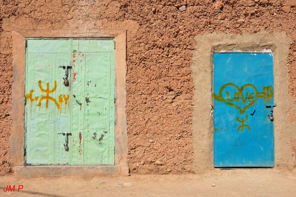 Le MCA, Mouvement Culturel Amazigh, se développe au Maroc. Photos 2012.