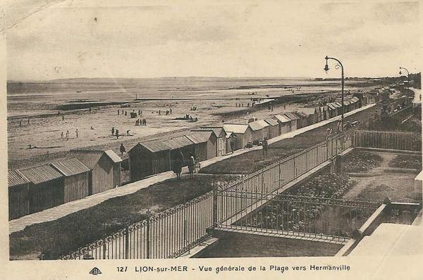 Les Bains - La Plage - Cabines - Digue