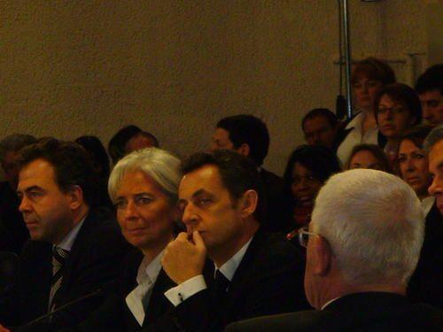 Album - 11 - 27.01.09 : Visite du Président Sarkozy à Châteauroux