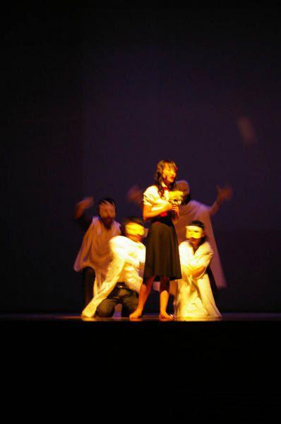 Comédie musicale mise en scène pour le festival des langues européennes à l'Université Nationale de Chung-buk
