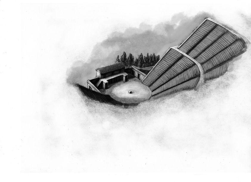 illustrations exécutées pour le jeu Oikouméné édité par Sans-Détour et les Ludopathes