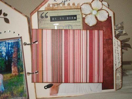 <p>Mini Album Tong, que j'ai réalisé lors d'une crop à Ste Hélène, dans les Vosges.</p><p>Mini Album Tag ( BOT ) sur le thème rose de ma fille Sarah..</p><p>Mini Album à soufflet .. avec Tags à l'intérieur.. </p>