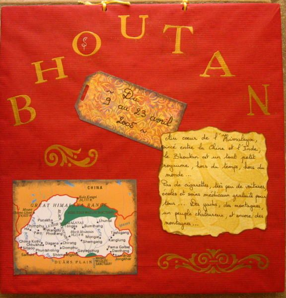 Album - Bhoutan - Scrap