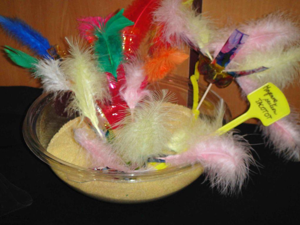 Les oeuvres du concours d'arts plastiques 2009.