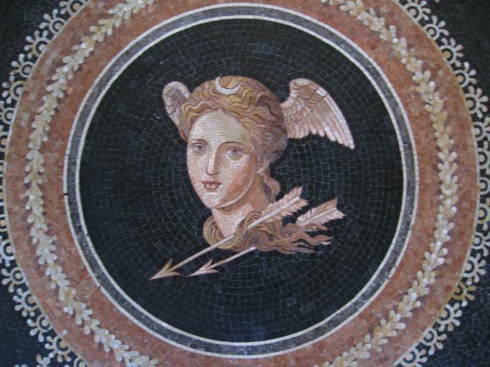 Italie, Spilimbergo, école de mosaique.