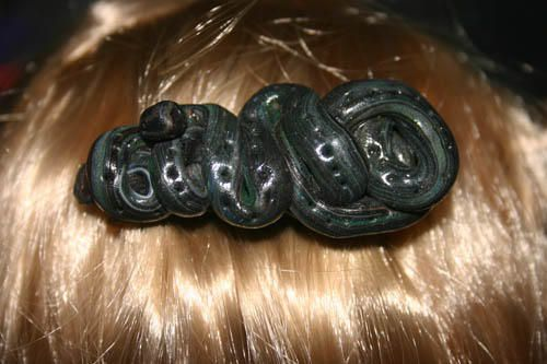 Je vous presente ma collection de barettes fimo, effet surprenant dans les cheveux des petites et grandes filles!