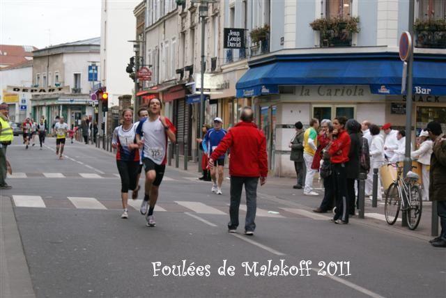 Fin du 10 km et podium féminin.