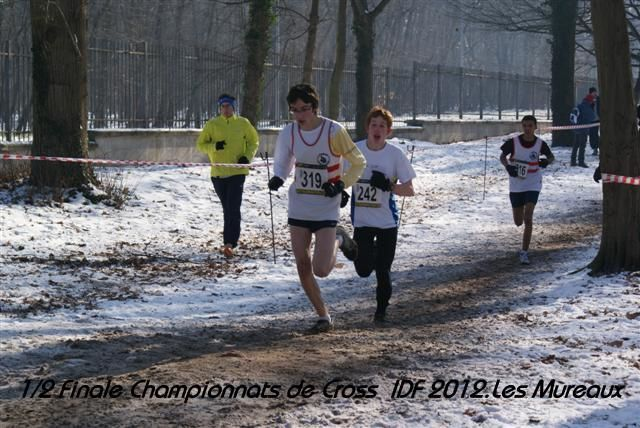 1/2 Finale Championnats de France Cross Country Ile de France 2012 aux Mureaux.