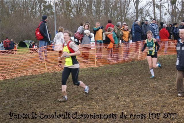 1/2 Finale des Championnats de France.Championnat IDF de cross country 2011 à Pontault Combault.