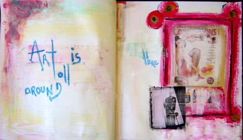 Album - art-journal xoxoxo