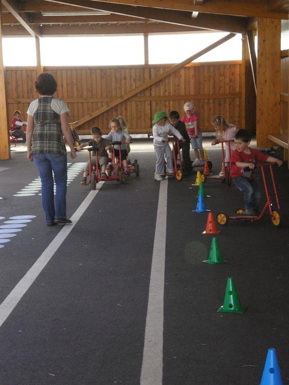 Photos prises dans le cadre des activités de la maternelle
