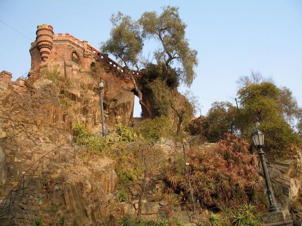Photos de la capitale chilienne, presque toutes prises en juin 2007