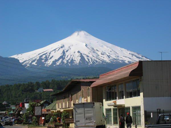 photos de la région de Pucon, au sud du Chili, prises en décembre 2005