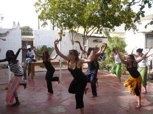 Stage artistique La Somone Sénégal 2009