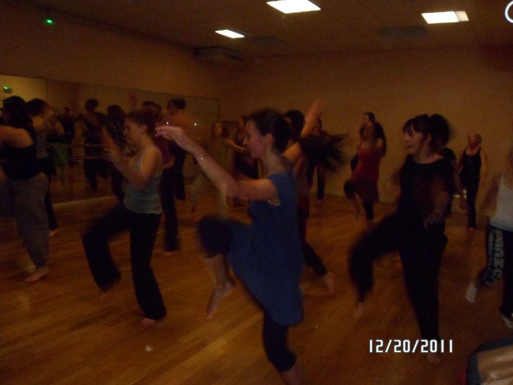 Stages de percu, Danse Afro Contemporaine et danse africaine avec Omar DIOP et Charles Lassehi les 19 et 20 décembre 2011 à POitiers