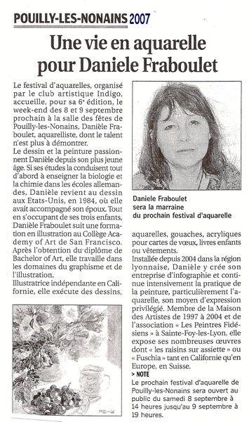 Depuis 2002, la presse régionale soutient le Festival.