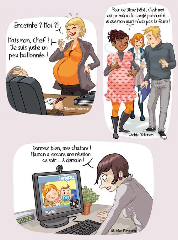 Voici quelques commandes d'illustrations des dernières années...