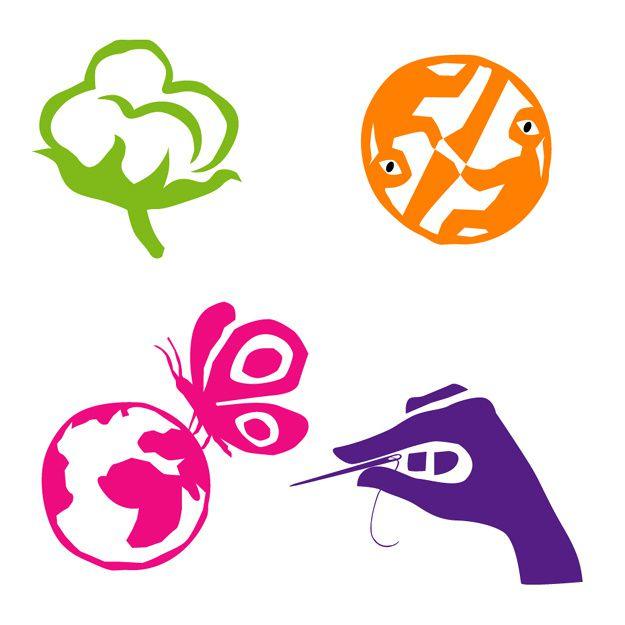 Voici quelques réalisations de logotypes...