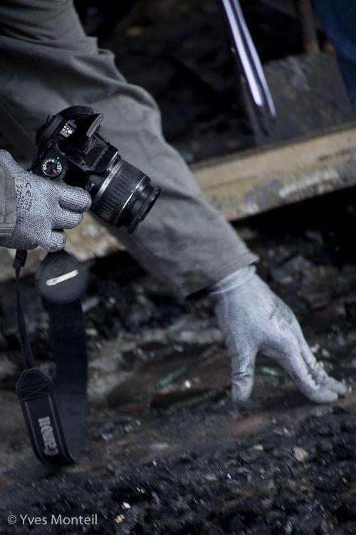 Un incendie s'est déclaré au coeur des Dervallières  vers 2h30 du matin le jedui 4 octobre 2012
