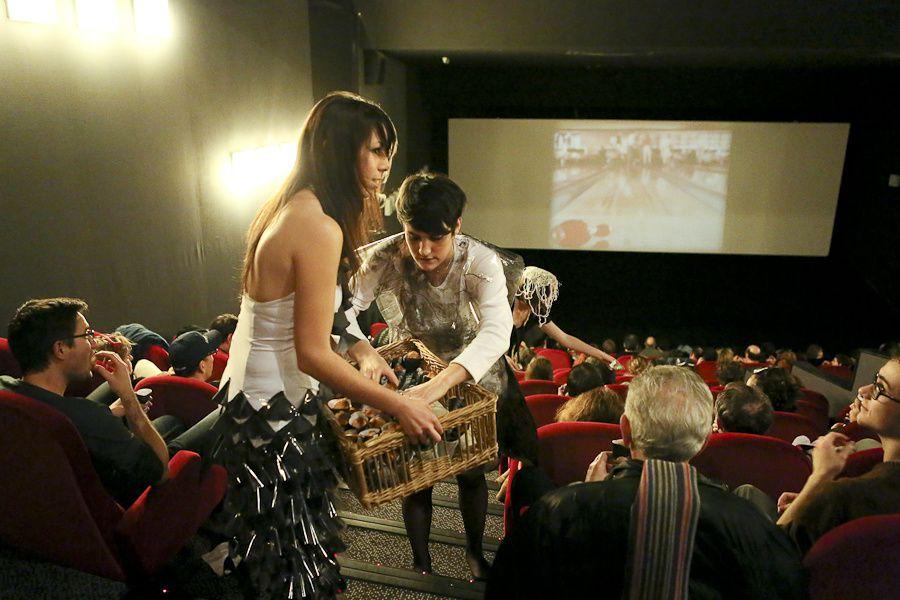 """""""Rétro séance"""" au Cinéma Katorza avec le BTS Design de Mode de l'école Lisaa - 29/01/2013"""