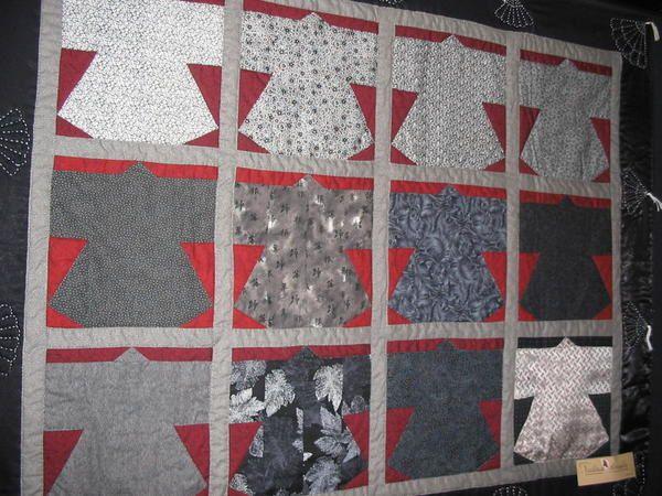 Exposition organis&eacute&#x3B;e par le club de patchwork de la ville d OBERNAI en octobre 2006