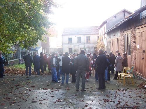 """Novembre 2006, """"un dimanche à la campagne"""" au 115 rue Robespierre future maison de l'environnement et ferme pédagogique"""