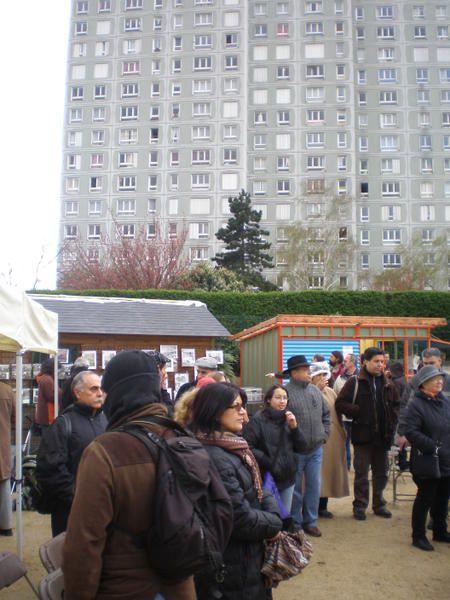 """Samedi 6 avril : c'était la fête au jardin partagé avenue de la Dhuys """"le Jardin-Guinguette de la Dhuys"""""""