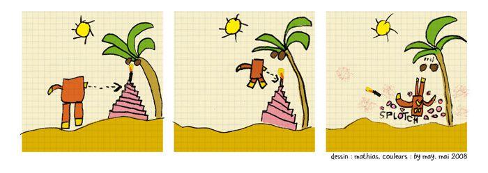 Les strips de Mathias (rassemblés aujourd'hui sur le matiblogstrips!)