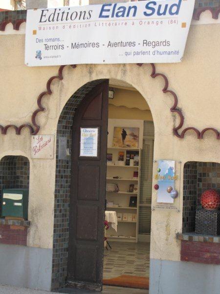librairie de la maison d'édition Elan Sud233 rue des Phocéens - 84100 Orange