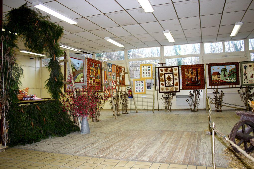 Ma première expo patchwork - Décembre 2009