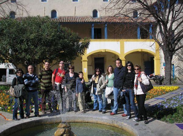 FÉVRIER 2008. Voyage réalisé par un groupe de professeurs et d'élèves de l'École officielle de langues de La Carolina (Espagne)