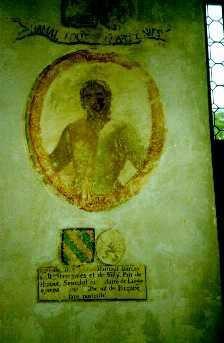 <strong>Les d&eacute&#x3B;tails de la fresque de la salle des Chevaliers</strong>